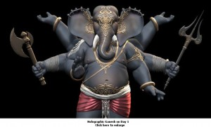 Holographic Ganesh1-small