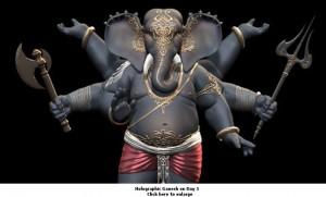 Holographic Ganesh1-small